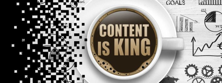 Website content is King